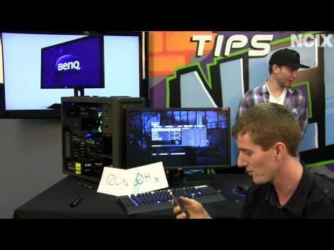 and MORE! NCIX Tech Tips - Part 2: http://youtu.be/a2IF9ZPwgDM Ever wondered how many FPS the human eye can see? We found an average gamer and put him in front of a 60Hz monitor and a ...