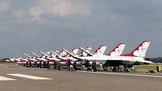 Lakeland (FL) United States  City new picture : USAF Thunderbirds at 2015 Sun 'n Fun Lakeland, FL - 26-Apr-2015