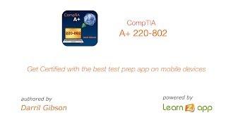 CompTIA A+ 220-902 Exam Prep YouTube video