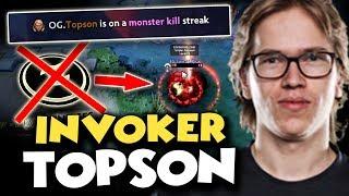 Video BEST INVOKER CONFIRMED! TOPSON Showed His Best Skills To DESTROY Evil Geniuses - GAME OF THE DAY TI8 MP3, 3GP, MP4, WEBM, AVI, FLV Desember 2018