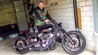 3. Harley Davidson FXSB Softail Breakout