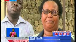 School to be charged with negligence after child is killed by school busSUBSCRIBE to our YouTube channel for more great videos: https://www.youtube.com/Follow us on Twitter: https://twitter.com/KTNNews  Like us on Facebook: https://www.facebook.com/KTNNewsKenya For more great content go to http://www.standardmedia.co.ke/ktnnews and download our apps:http://std.co.ke/apps/#android KTN News is a leading 24-hour TV channel in Eastern Africa with its headquarters located along Mombasa Road, at Standard Group Centre. This is the most authoritative news channel in Kenya and beyond.