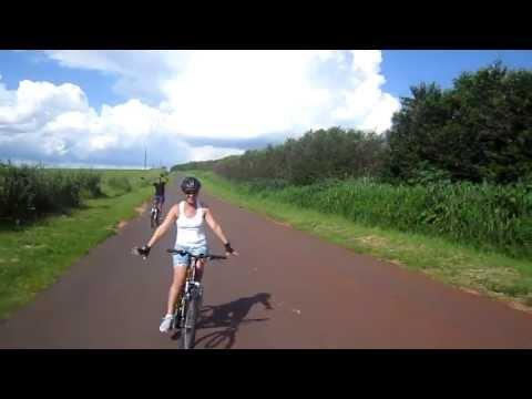 cicloturismo em Paranavai  sentido cachoeira de Nova Aliança de Ivai   24/02/2013