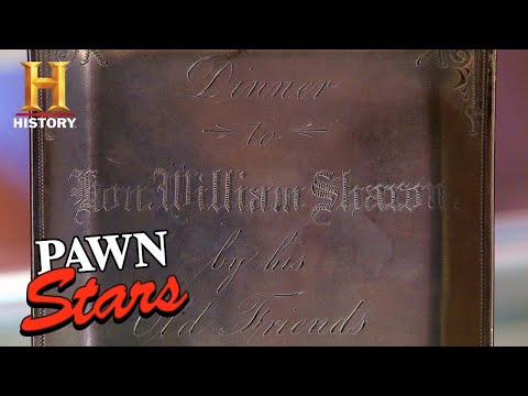 Pawn Stars: CRAZY HIGH ASKING PRICE for Antique Silver Menu (Season 13)   History