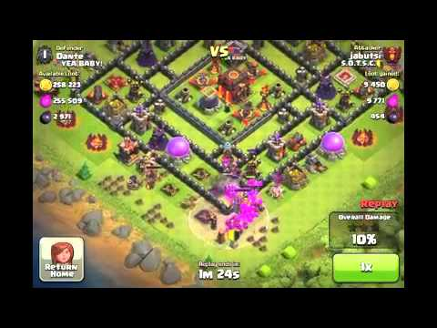 Clash of Clans - High Level Champions League Attack Strategy