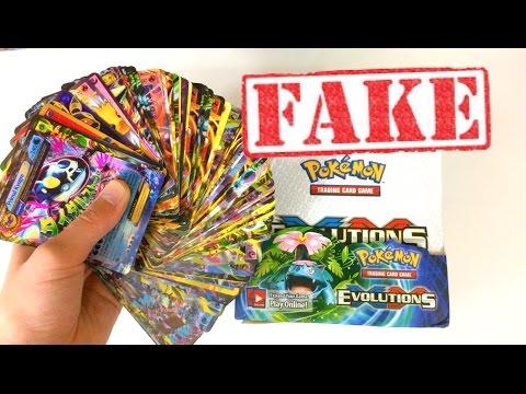 100 ULTRA RARE PULLS??! FAKE POKEMON CARD BOOSTER BOX OPENING! (видео)