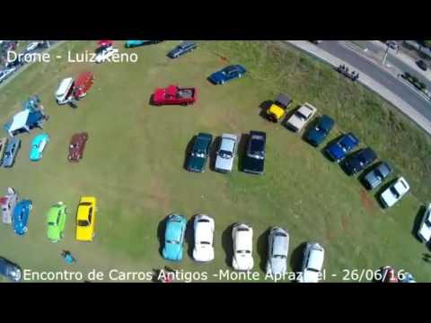Monte Aprazível - (VÍDEO) Drone Luiz Keno e Fotos Giselly (Ecoterapia) - Encontro de carros antigos