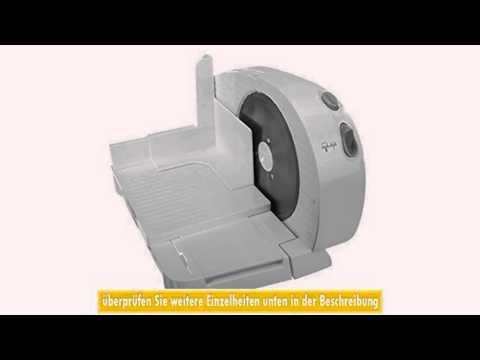Allesschneider Brotschneidemaschine klappbar Brotschneider 200 Watt