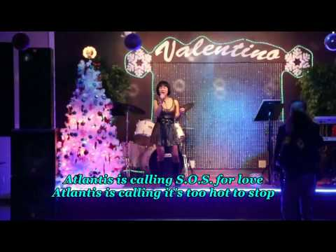 ATLANTIS IS CALLING (Modern Talking)- Bich Thuy cover- Valentino Jan 03 2014