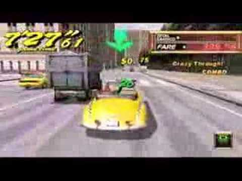 crazy taxi fare wars psp cso