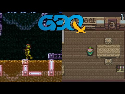 Super Metroid/ALttP Combo Randomizer by Andy and Oatsngoats in 3:16:22 - GDQx2018
