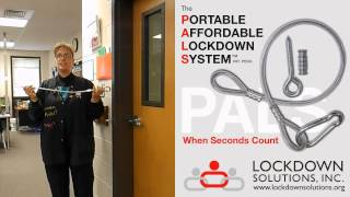 <h5>The Portable Affordable Lockdown System</h5><p>An overview of the Portable Affordable Lockdown System (PALS) - a safe, fast and effective way to safeguarding classrooms</p>