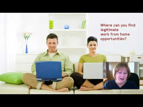 Legitimate Work From Home Opportunities Top Tips to Consider