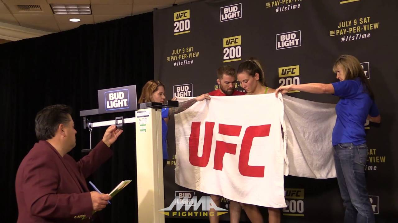 UFC 200 Weigh-Ins: Miesha Tate Beats Buzzer to Make Weight