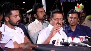 Vijay, Suriya, Sivakumar, Ilaiyaraaja, Sathyaraj Paying Homage To Balu Mahendra | Funeral Video