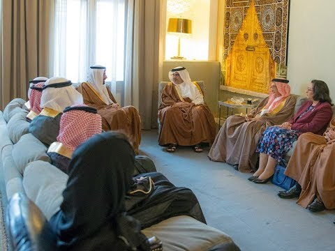 سمو ولي العهد يستقبل وزير الصحة السعودي