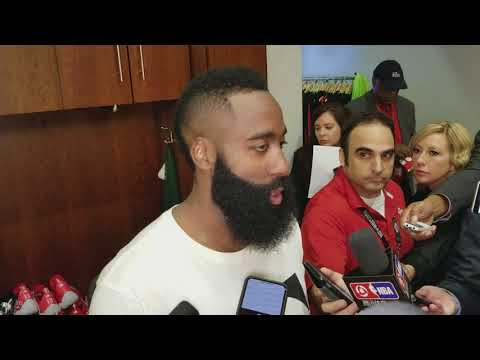 James Harden on the Houston Rockets' 60th win