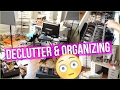 DECLUTTER MY MAKEUP! ORGANIZING FOR LESS | Makeup Collection