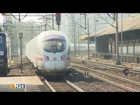 N24: Der ICE Highspeed auf Schienen (видео)