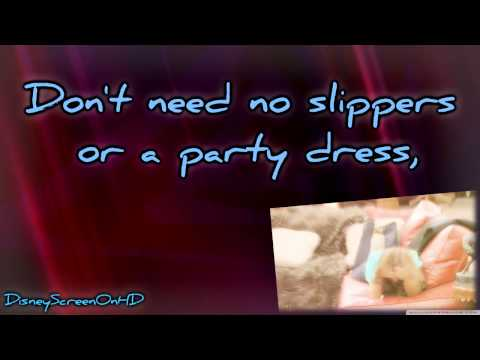 Tekst piosenki Hannah Montana - Barefoot Cinderella po polsku