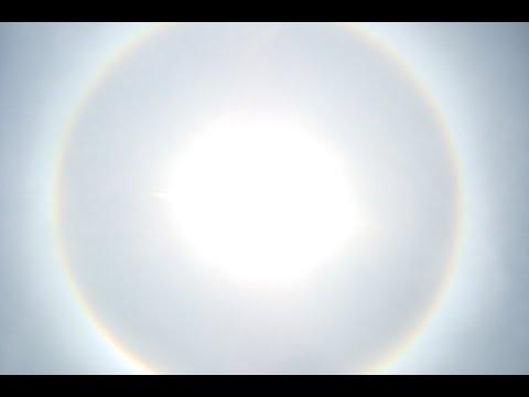 O Sol apareceu assim aqui em Cantagalo -RJ hoje !! 23/10/2015
