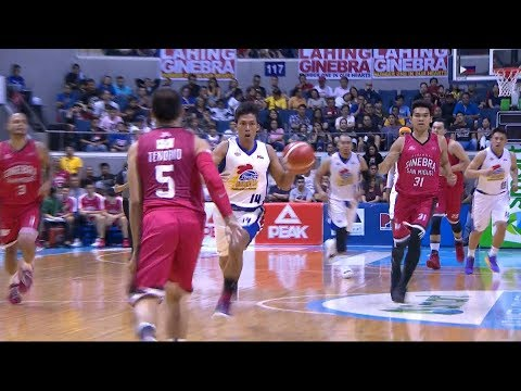 What a spin by Mark Barroca! | PBA Philippine Cup 2019