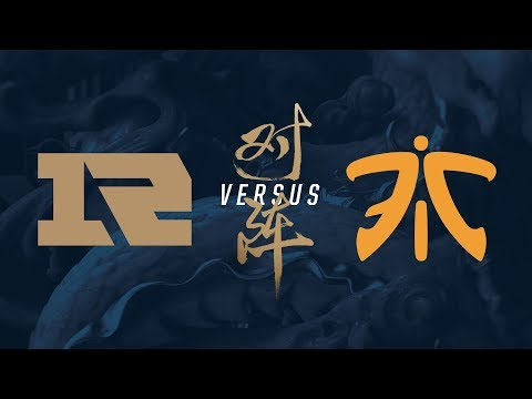 RNG vs. FNC | Quarterfinals Game 1 | 2017 World Championship | Royal Never Give Up vs Fnatic (видео)