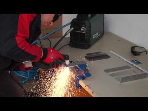 Plasmaschneider für Stahl, Edelstahl, Aluminium - bis 15 mm problemlos mit der Cutmaster 12 plus