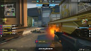 FarmSkins WCA | Gambit vs Japaleno bo3 map2 train @Toll @Zais