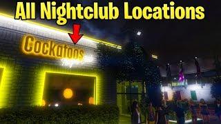GTA Online Nightclub DLC - ALL Club Locations That We Might Own