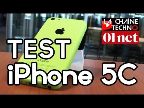 [Test] iPhone 5C : un lifting tout en couleur