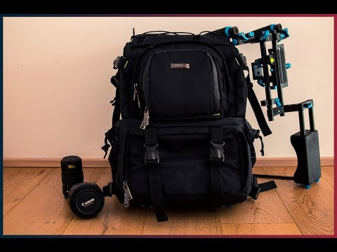 EVECASE photography backpack ITA REVIEW | NEMOVISUALS