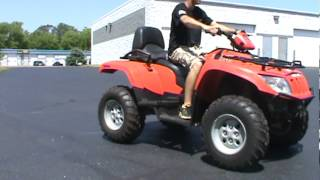 4. 2008 Arctic Cat 500 4x4 Auto TRV $4,499 #9235 Road Track and Trail Big Bend WI 53103