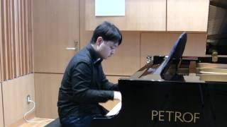 ペトロフ・ピアノ レコーディング@Sala MASAKA