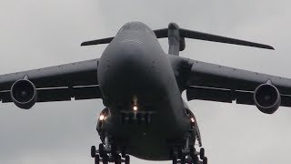 RAF Fairford - Sabre Strike arrivals - day 1 - 2nd June 2014 - YouTube