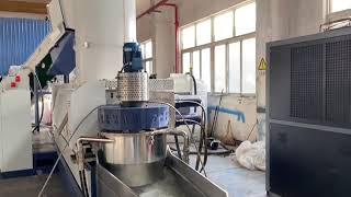 PURUI Plastic recycling machine plastic machine in China youtube video