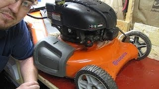 5. Mechanical Moron - My Husqvarna Lawnmower Won't Start
