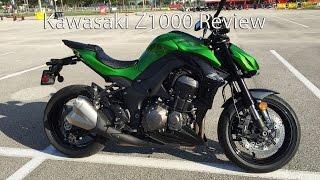 7. 2015 Kawasaki Z1000 Motorcycle Review