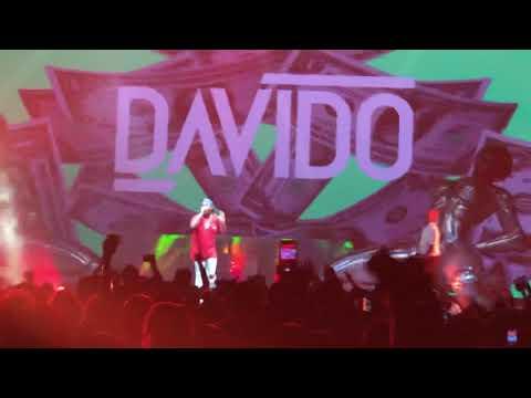 Chris Brown and Davido at Barclays Center