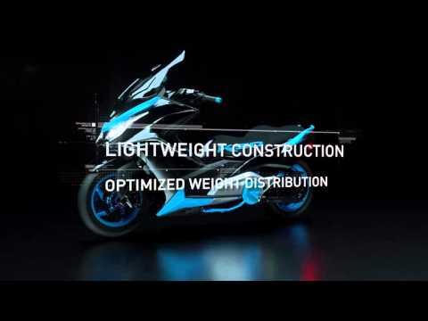 Vídeos de '¡KYMCO desvela en Tokyo su megascooter K50 Concept!'