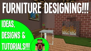 Furniture Designing!!! - #7 Building Tips&Tricks