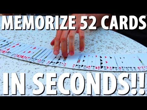 cards - Trick people into believing you can memorize an entire deck of cards within 30 seconds! Free Audible Download: http://audible.com/disturbreality I learned th...