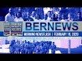 Bermuda Newsflash For Wednesday, February 19, 2020