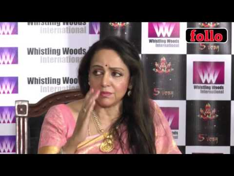 Hema Malini And Subhash Ghai At Inauguration Event!