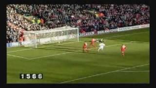 Diego Forlans Treffer für Manchester United