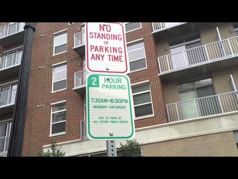 Parking Signs Outside WTOP