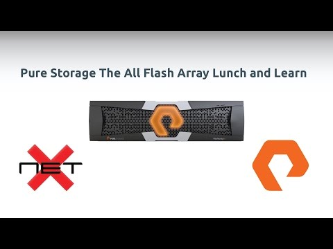 Image for NetX Webinar - Pure Storage The All Flash Array Lunch and Learn