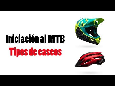 Iniciación al MTB: Tipos de cascos | Ciclismo