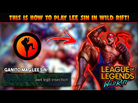 iNSECTiON Chou User Play LEE SIN in Wild Rift!! 🔥