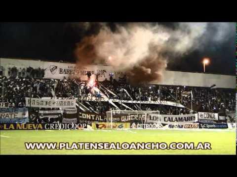 La hinchada Calamar | Platense 1 - 0 Temperley | Ida | Final | Reducido 2013/2014 - La Banda Más Fiel - Atlético Platense